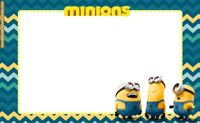 Imagenes De Los Minions Tarjetas Marcos Etiquetas Imagenes Para