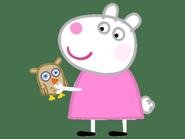 Amigos de peppa Pig Figuras susy oveja