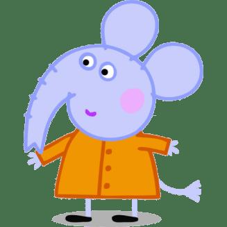Emily elefante amiga de peppa Pig