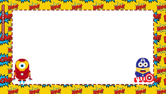 Imagenes Minions avengers