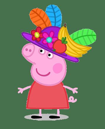 Peppa Pig disfrazada