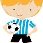 Imágenes de niños y fútbol