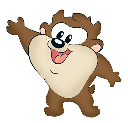 Tazz baby - Looney tunes babies