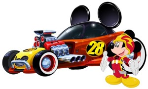 Mickey and roadsters racers png