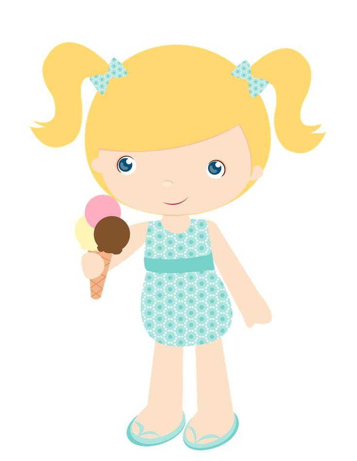 nena comiendo helado