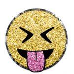 Coleccion imagenes Emojis Glitter Dorados