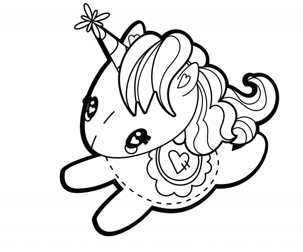 Dibujos De Unicornios Para Dibujar Faciles