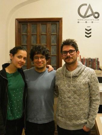 Diana Arias, Jose Rosero, Alejandro Mesa