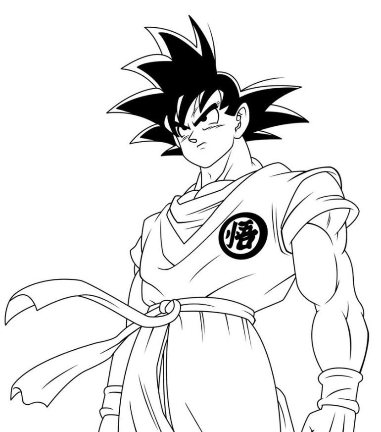 Dibujos Para Colorear De Dragon Ball Z Bills