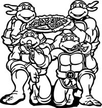 Imagenes De Tortugas Ninja Para Colorear Tortugas Ninja