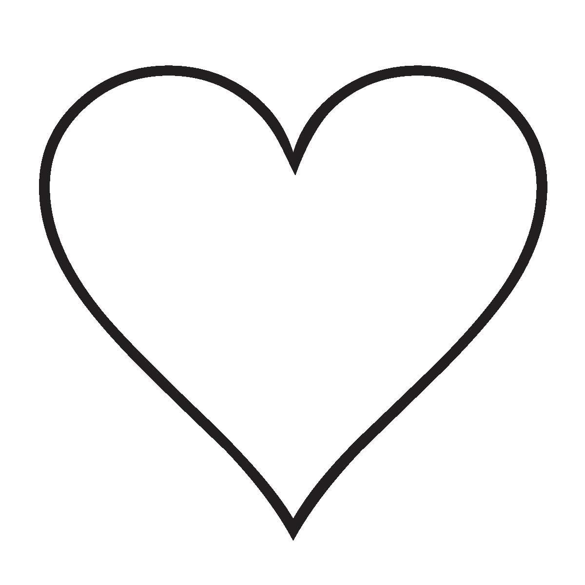 Imagenes de corazones para colorear