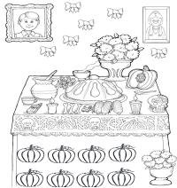 Altar De Muertos Para Colorear Ofrenda Para Colorear