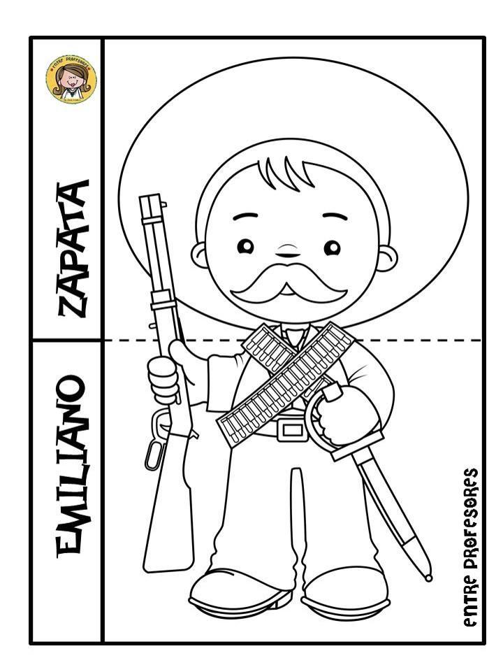Dibujos Para Colorear Revolucion Mexicana Auto Electrical
