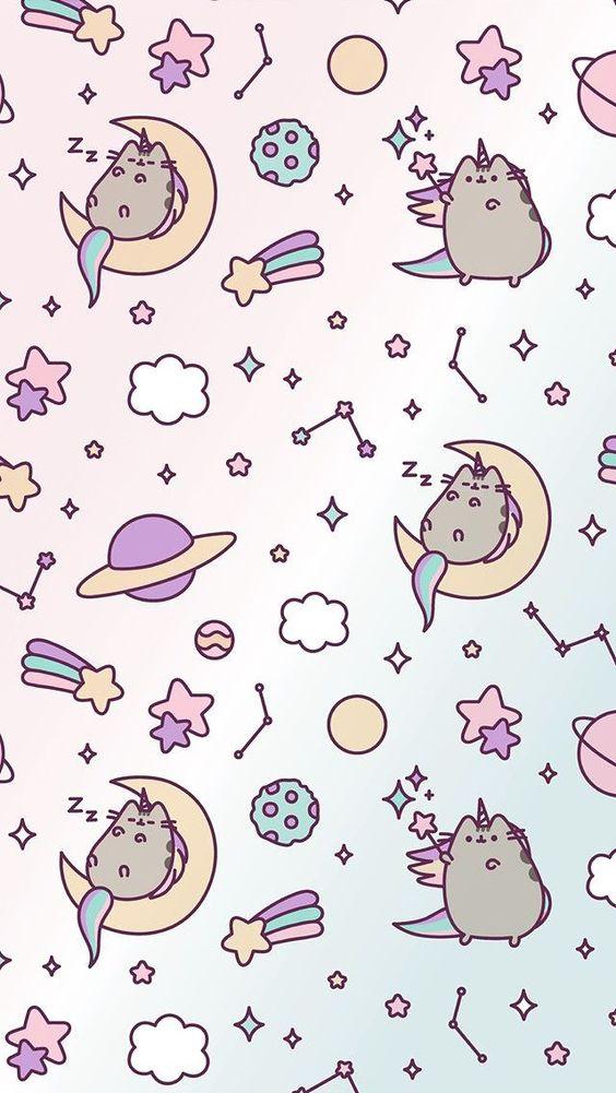 Wallpaper Cute Emoji Wallpaper Gato Messenger