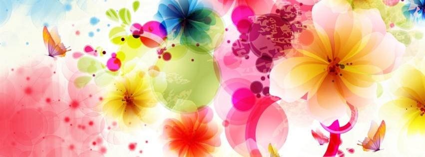 Fall Flowers Desk Background Wallpaper Flowers And Butterflies Facebook Cover