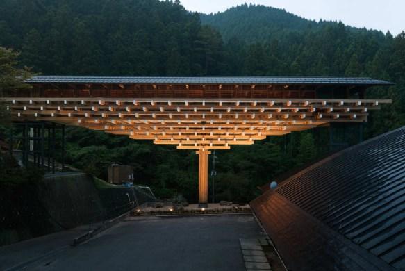 Arquitetura japonesa: Museu Ponte de Madeira Yusuhara