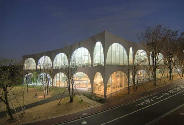 Arquitetura japonesa: Tama Art University Library