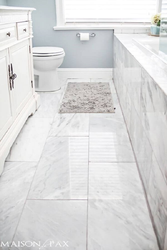 piso porcelanato para banheiro