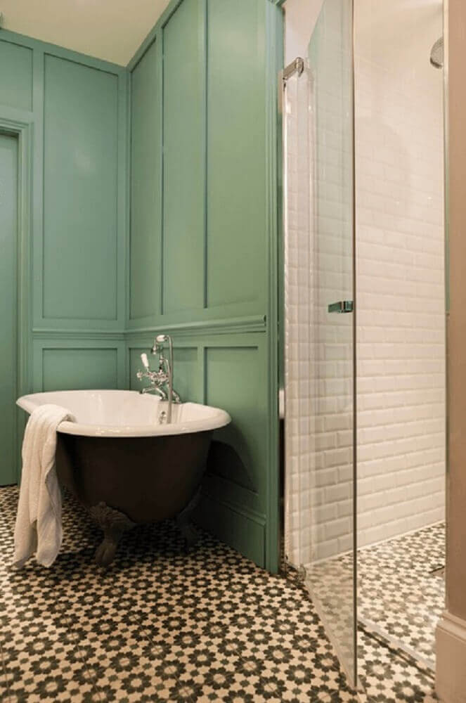 pisos antigos para banheiro