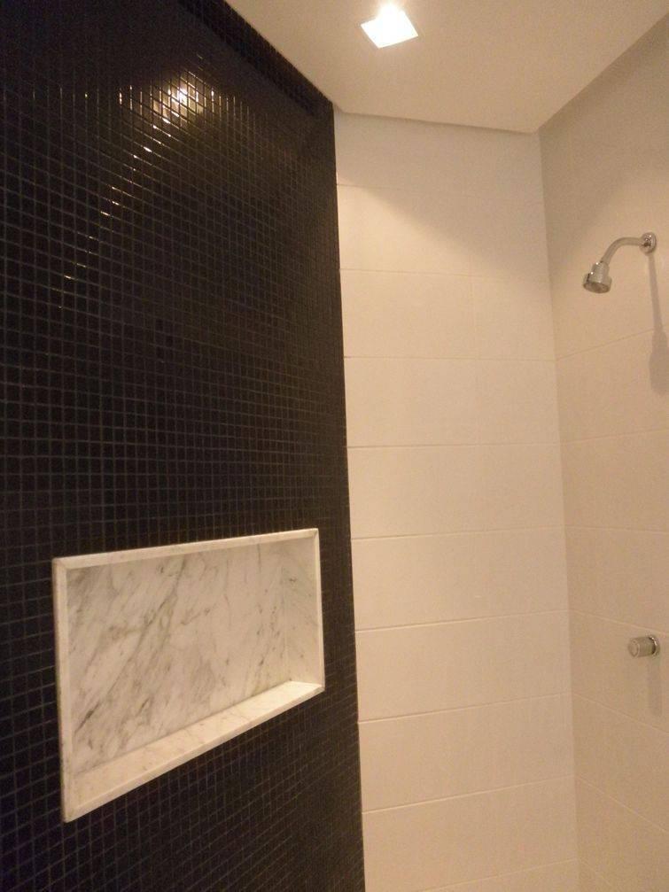 Banheiros Decorados com Pastilhas so a Nova Moda