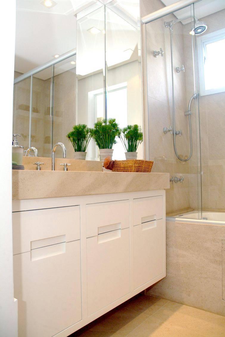 Decorar banheiro pequeno para aproveitar o espao