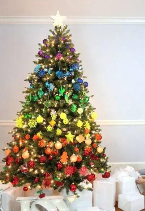 42 Modelos De Rvore De Natal Para Inspirar A Sua Decorao