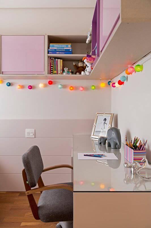 apartamento colorido decorado quarto de menina
