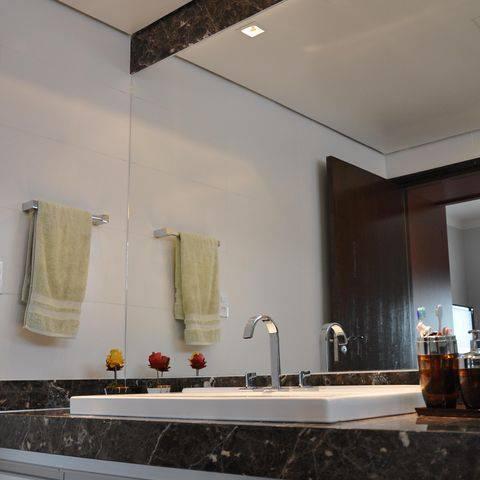 torneira para banheiro deca fundo espelhado