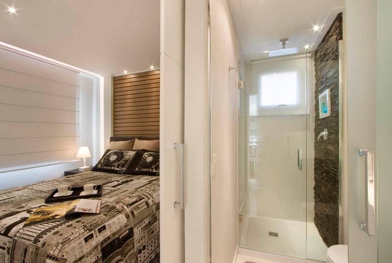 Apartamentos pequenos banheiro Gerson Dutra de Sá e Ana Lucia Salama