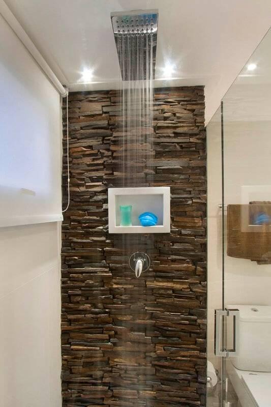 Apartamentos pequenos banheiro detalhe Gerson Dutra de Sá e Ana Lucia Salama