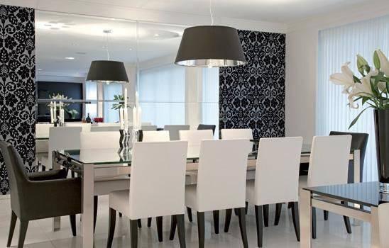 cadeiras sala de jantar alta branca e preta paula zanello 27435