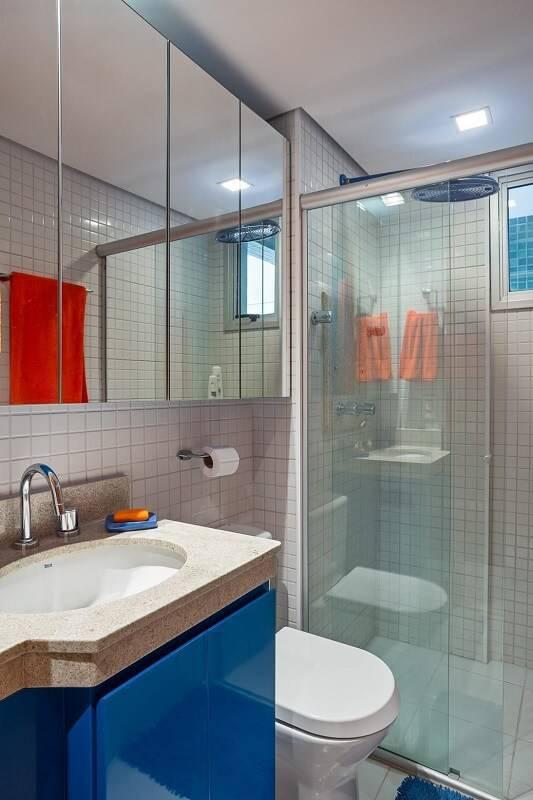 espelho para banheiro dividido karla amaral madrilis 52603