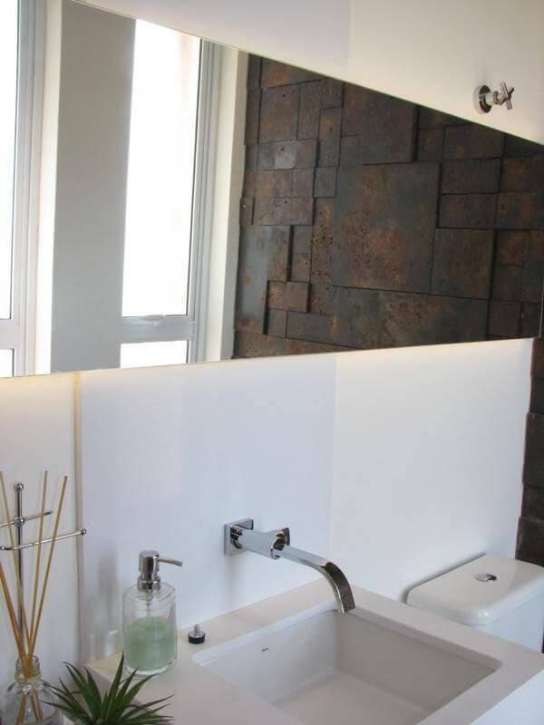 espelho para banheiro retangular juliana mancini 61552
