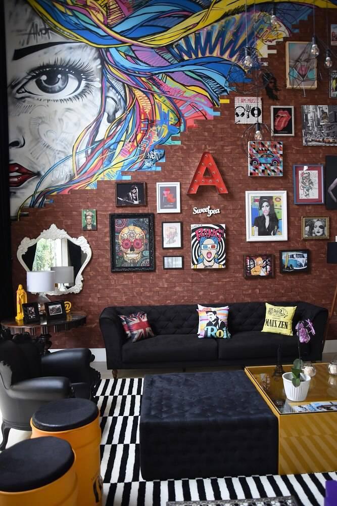Casa da Anitta Conhea a Manso Decorada por Estudio Decore