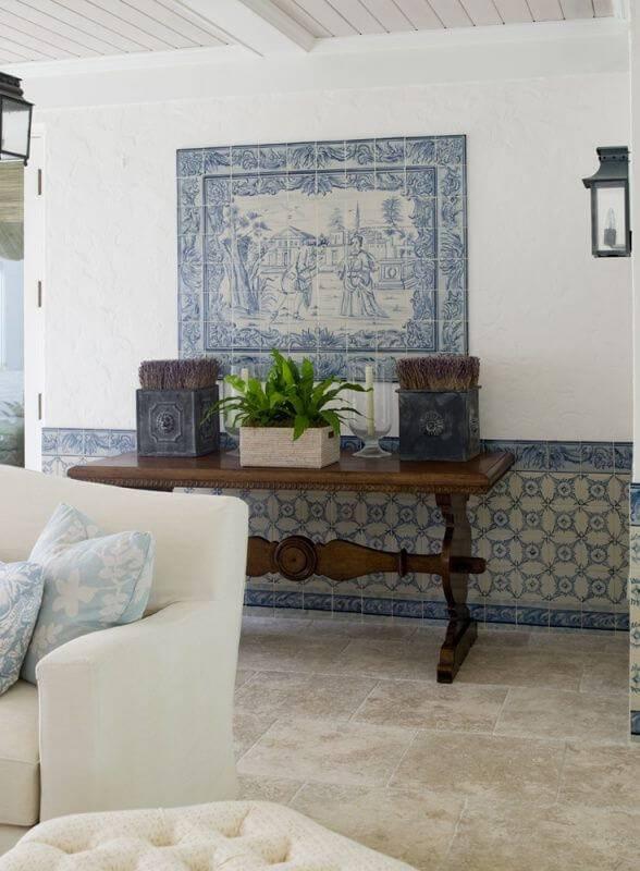Azulejo Portugus 48 Inspiraes para Decorar com Estilo
