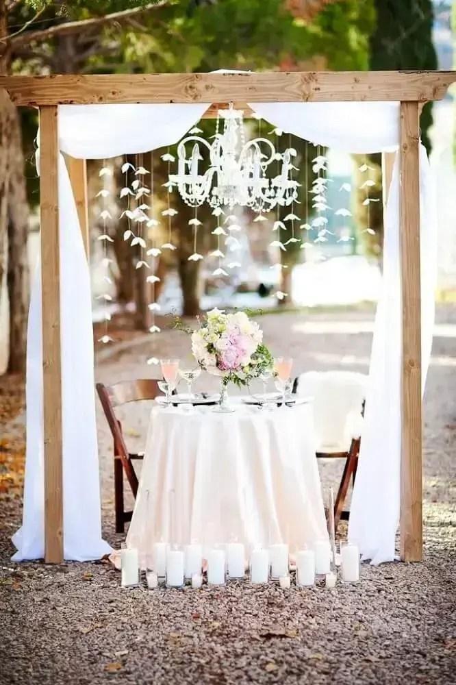 Decorao de Casamento Simples  38 Dicas e Modelos para se Inspirar