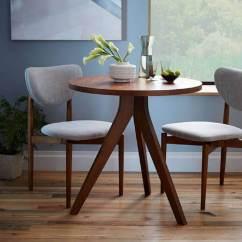 West Elm Chairs Dining Ergonomic Chair Arm Support Mesa De Jantar Pequena: +35 Modelos Para Inspirar E Decorar