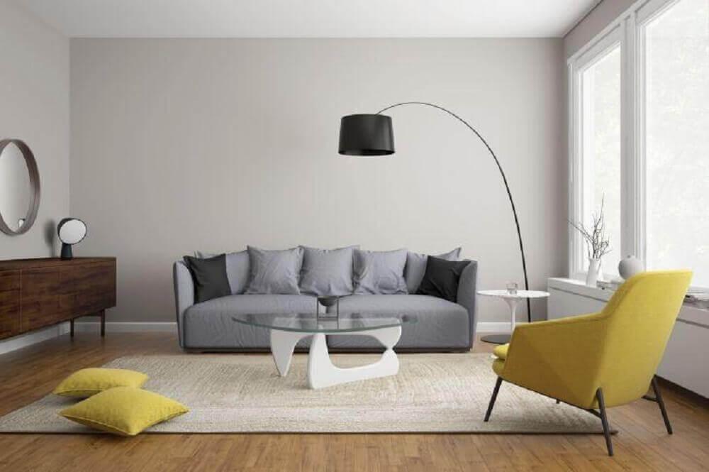 what color should i paint my living room with a tan couch wood burners sala cinza: confira várias ideias de decoração para sua
