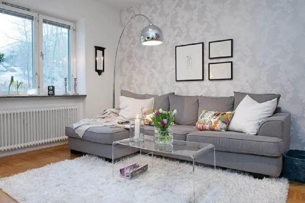 Sofa Sala Cinza