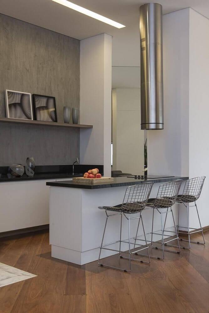 Cozinha com Coifa Aprenda como Escolher Coifas e 50 Modelos