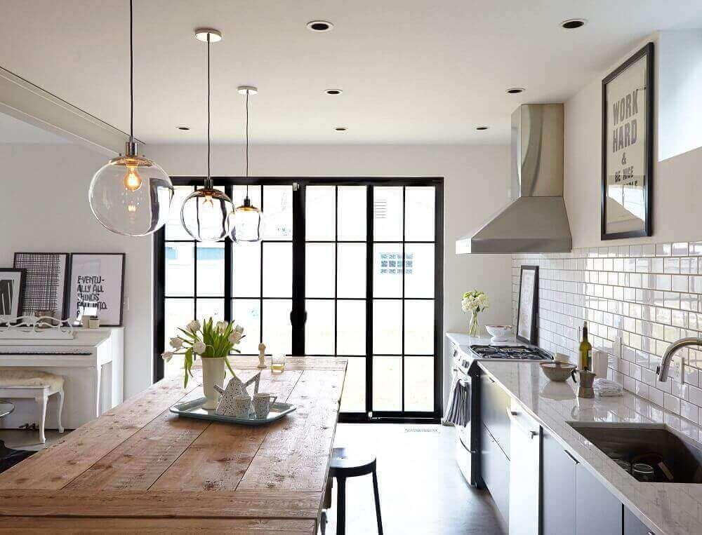 Pendentes Para Cozinha: 4 Dicas Para Escolher + 50 Modelos