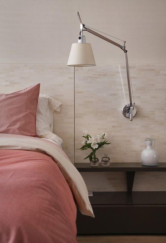 Bedroom wall lamp