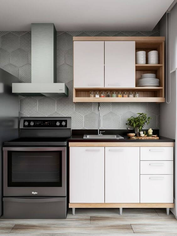 Check out how to choose the best small modulated kitchen