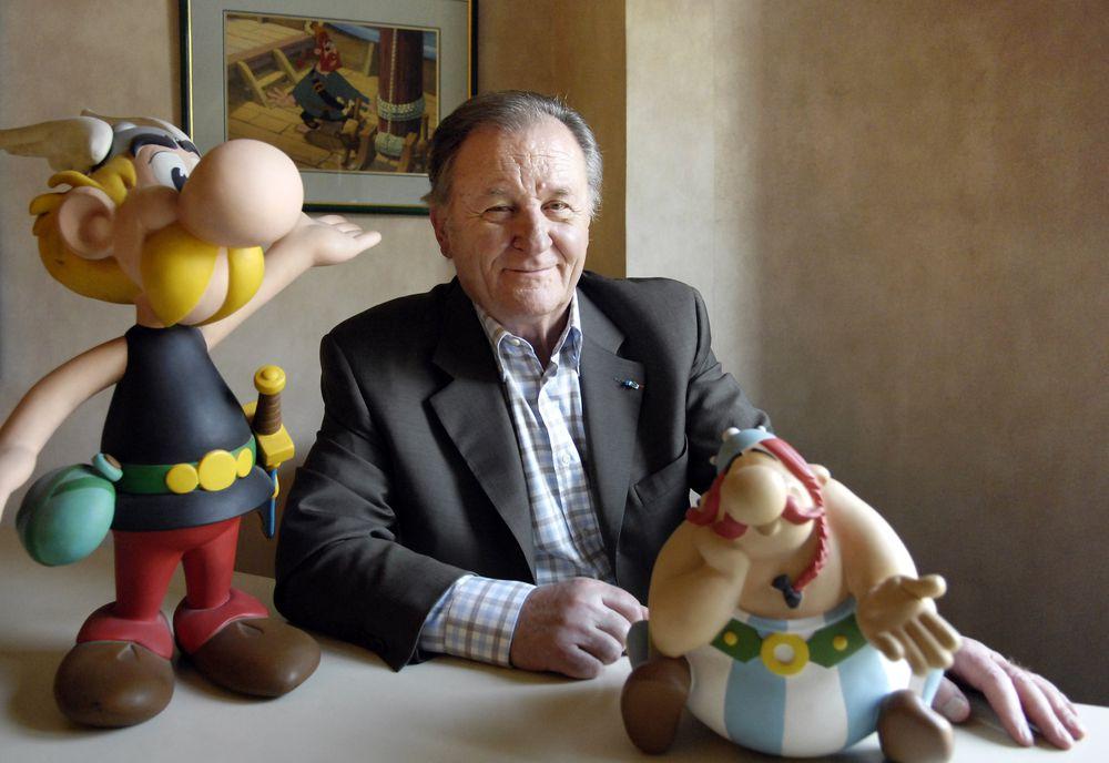 Morre Albert Uderzo, um dos criadores de Asterix e Obelix