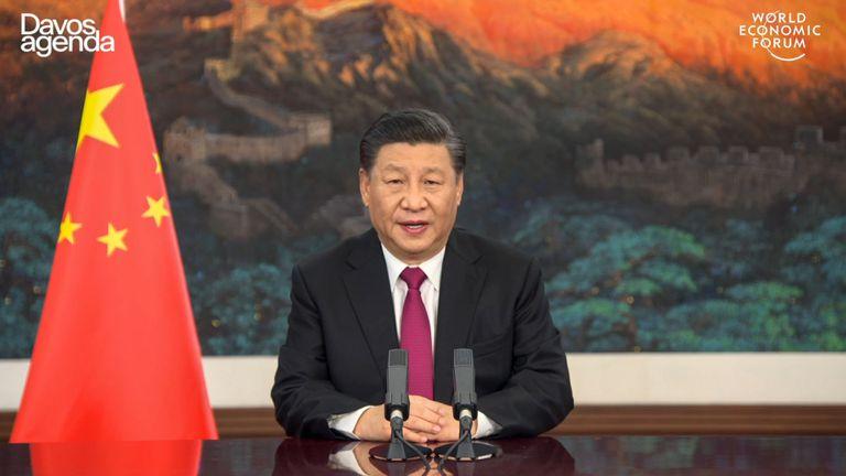 O pronunciamento do presidente chinês Xi Jinping nesta segunda-feira no Fórum Econômico Mundial