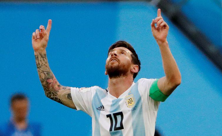 2018 06 26t181820z 890720371 rc13205152d0 rtrmadp 3 soccer worldcup nga arg - Oitavas de final começam com três campeões do mundo em campo