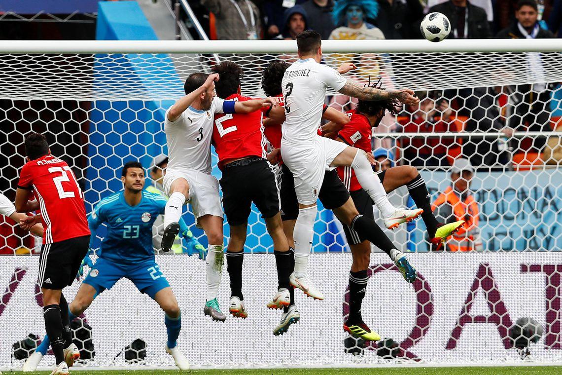 Uruguai vence Egito por 1 a 0
