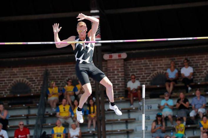 Sam Kendricks compete na Diamond League em Estocolmo - atleta testa positivo para covid-19 em 29/07/2021 e está fora de Tóquio 2020 - Olimpíada