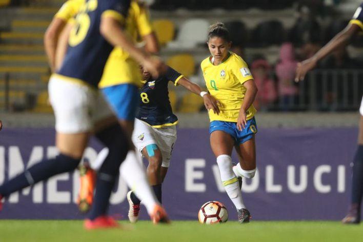 Jogos contra o Equador serão os últimos da seleção feminina em 2020