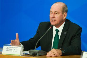 O ministros da Defesa, Fernando Azevedo e Silva, fala sobre repatriação de brasileiros que estão na China